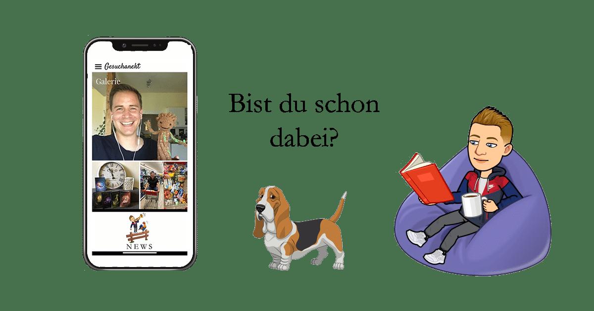 Gesuchanekt - Die Autorenapp von Andreas Suchanek